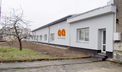 sídlo společnosti